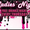 FREE Drinks Thursday