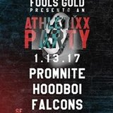 Athletixx ft Promnite, Hoodboi, & Falcons at 1015 Folsom