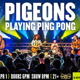 Pigeons Playing Ping Pong at Brooklyn Bowl