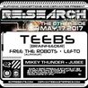 RE:Search ft. Teebs w/ Free The Robots, Lefto, Mikey Thunder, Jubee at Cervantes' Other Side
