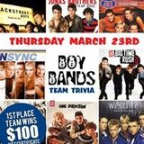 Boy Bands Themed Team Trivia