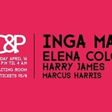 SC&P: Inga Mauer, Elena Colombi, Harry James, Marcus Harris