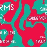19.1 Forms Launch Party with Skream, &ME, Krystal Klear & Melé
