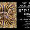 12/30 Beats Antique, CloZee, Tsuruda, Alex Grey & Allyson Grey