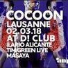 Cocoon at D! Club with Ilario Alicante, Tim Green live, Masaya