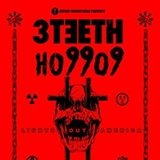 3TEETH / Ho99o9 (Horror) / Street Sects / W.O.R.M. @ Reggies Rock Club - Chicago, IL