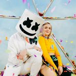 """Marshmello and Anne Marie receive the platinum certification for """"FRIENDS""""!"""