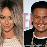 Reality Stars Aubrey O'Day + Pauly D Dating After Meeting on Reality Show