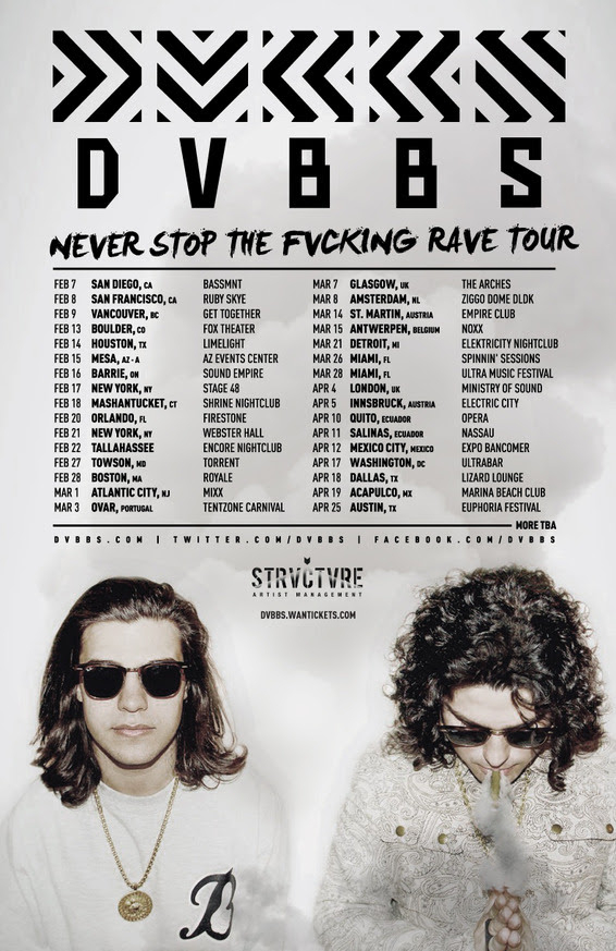NEVER STOP THE FVCKING RAVE TOUR